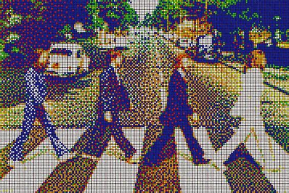 Rubik's Cube Art-13