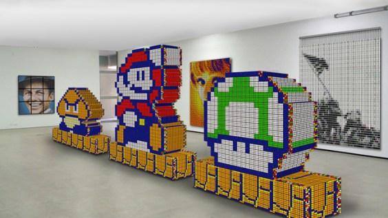 Rubik's Cube Art-16