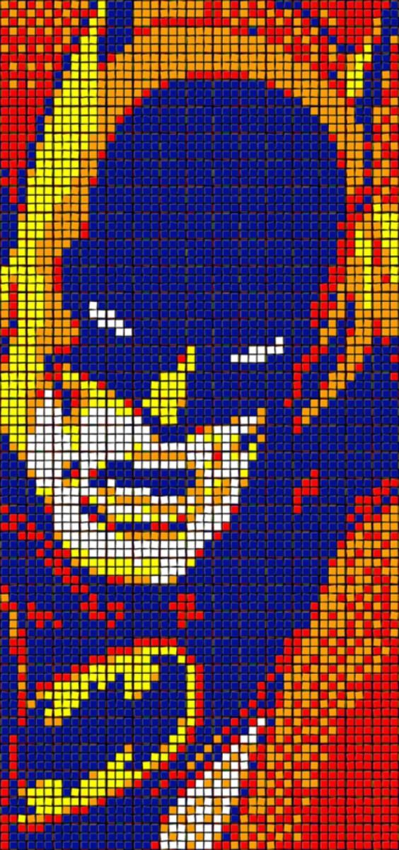 Rubik's Cube Art-17