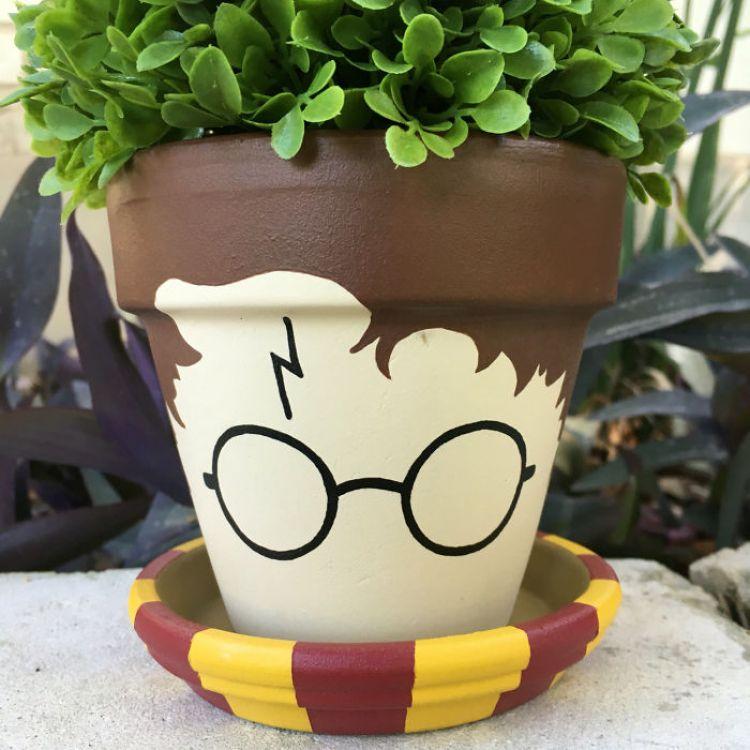 Harry Potter Plant Pot