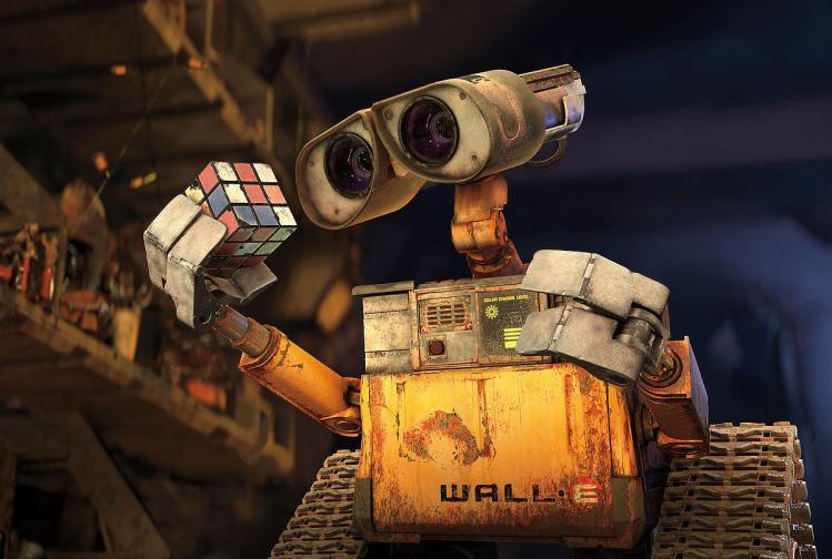 2. WALL-E, 'WALL-E' (2008)