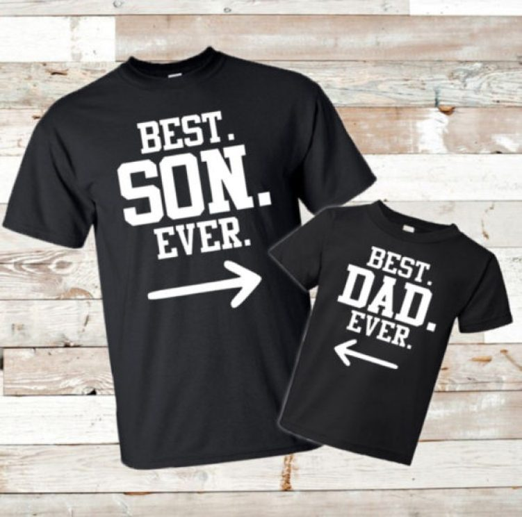Best Son Ever and Best Dad Ever