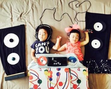 sleeping twins japanese