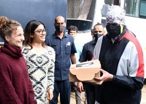 revealed! Actor Elli AvrRam completed shooting for Goodbye starring Amitabh Bachchan, Neena Gupta and Rashmika Manndanna., Photos, Videos, Full Movie Watch Online Free Download Leaked By Tamilrockers, Download Torrent Telegram File Link