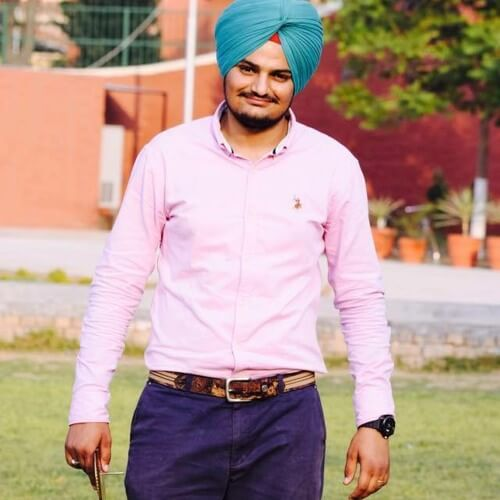 sidhu moose wala old picture
