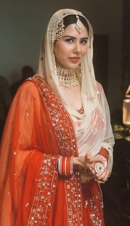 Sonam Bajwa Bridal Look