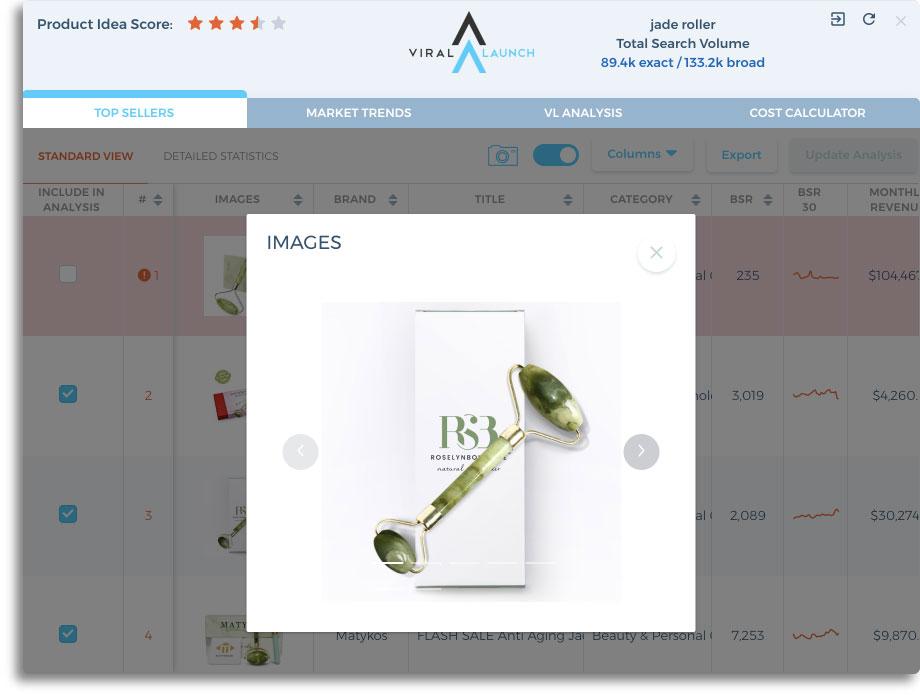 sales data ASIN photo