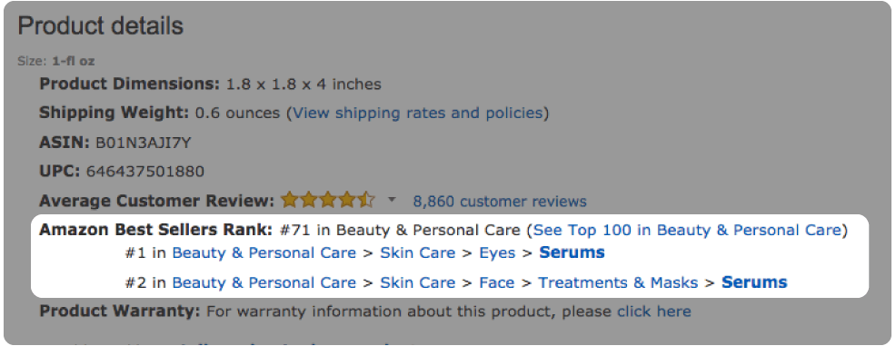 what is amazon best seller rank