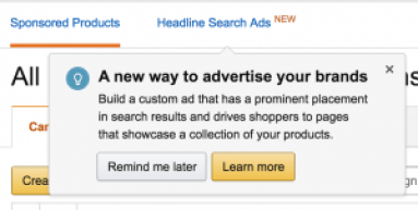 What are Headline Search Ads