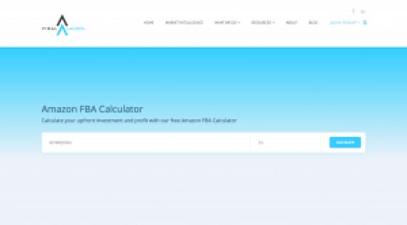 Calculate Amazon Fees