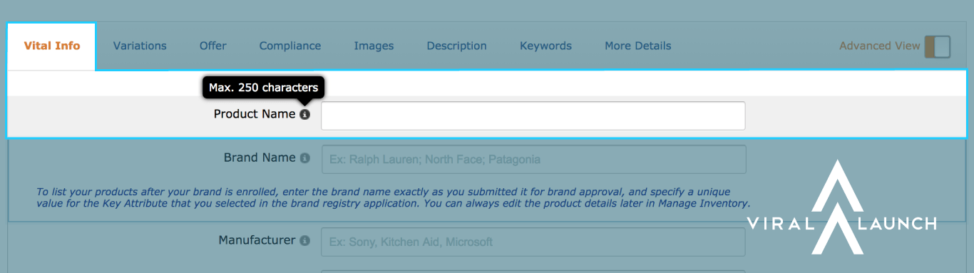 character limits product title name amazon seller central