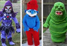 A Creative Mom Crochets a Halloween Costumes For Kids (10)