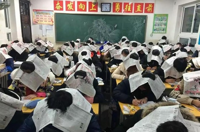 #10 Anti-cheating hats