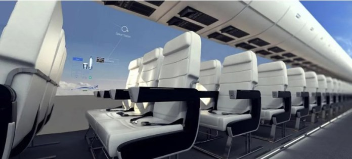 Windowless Planes Will Give Passengers a Panoramic View of the Sky