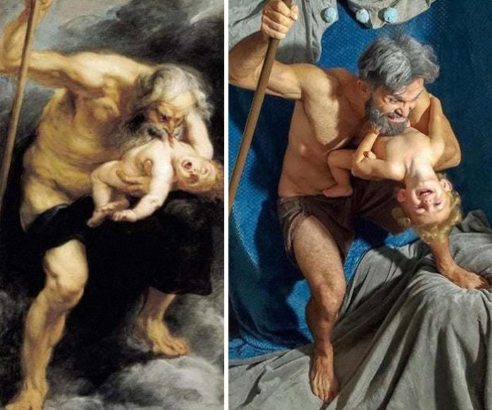 Museums Ask People To Recreate Famous Paintings At Home