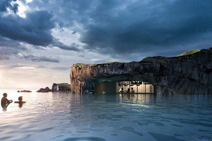 stunning Sky Lagoon in Iceland