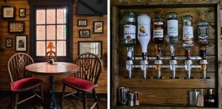 Couple Builds A Mini Pub In A Garden, Stuns People With Its Handmade Interior
