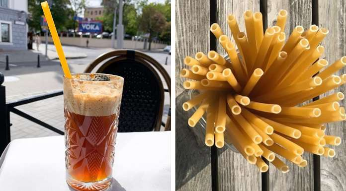 Bars In Italy Are Starting To Use Pasta Straws To Reduce Plastic Waste Edible Straws