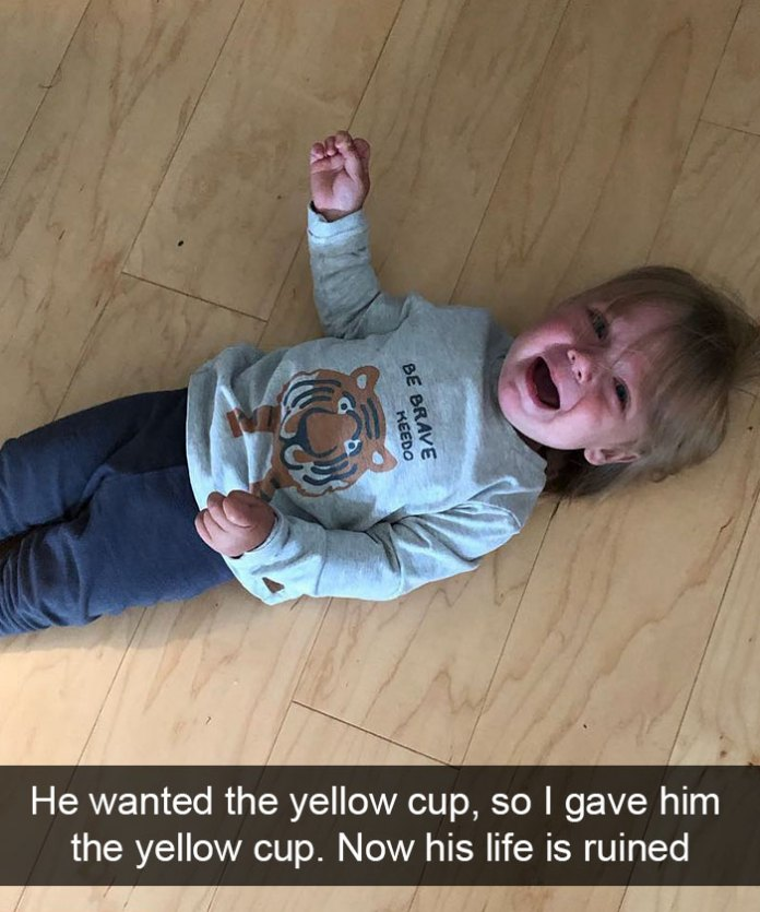 Parents Are Sharing All The Hilariously Absurd Reasons Why Their Kids Cry