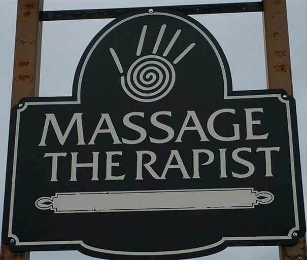 Hilarious Examples That Show Why Letter Spacing Is Important kerning funny