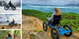 Off road wheelchair Zack Nelson