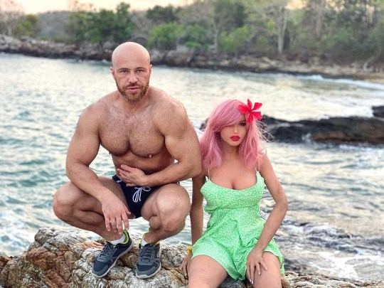 "Bodybuilder Who Fell In Love With a Doll Marries Her | She Has A"" Tender Soul Inside & Loves Georgian Cuisine."""