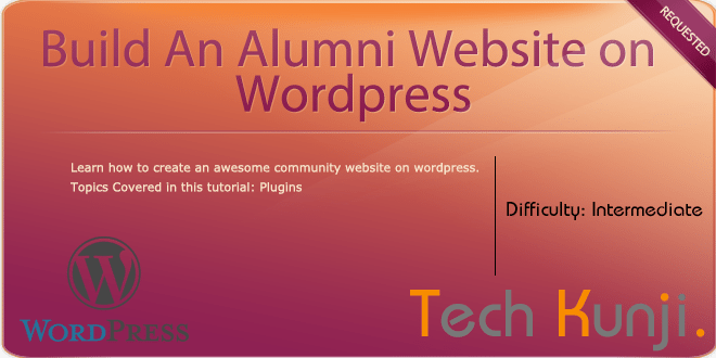 Build An Alumni Website on WordPress – Plugins