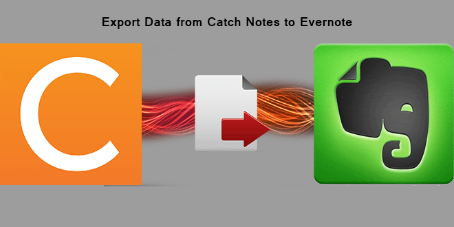 How to Import Catch Notes to Evernote – Steps