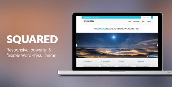 squared buddypress wordpress free theme download