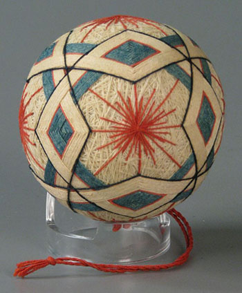 Fig 16. Japanese Temari ball, ca. 1980. Courtesy of The Strong, Rochester, New York, USA.