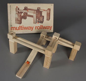 Fig 23. Creative Playthings. Multiway Rollway, 1960-1969. , Courtesy of The Strong, Rochester, New York, USA.