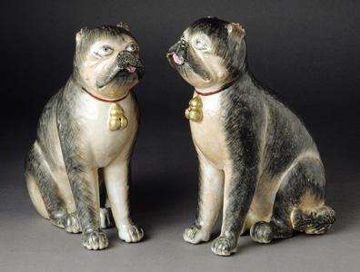 Pug Figurines
