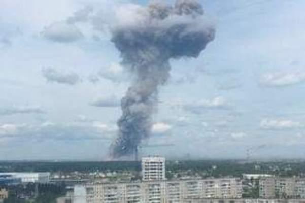 لحظة انفجار القنبلة النووية الروسية موقع حديث الصباح
