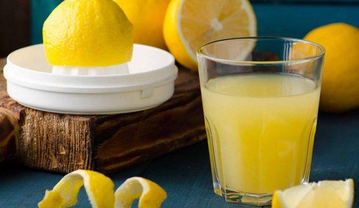 عصير الليمون, قشر الليمون, الليمون