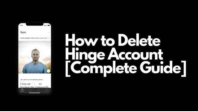 How to Delete Hinge Account [Complete Guide] - ViralTalky