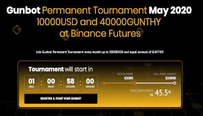 Over 130 participants, over 90 with a positive PNL: this is Gunbot Tournament....dont miss it! 3