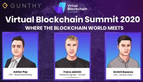 Gunbot at Virtual Blockchain Summit 3