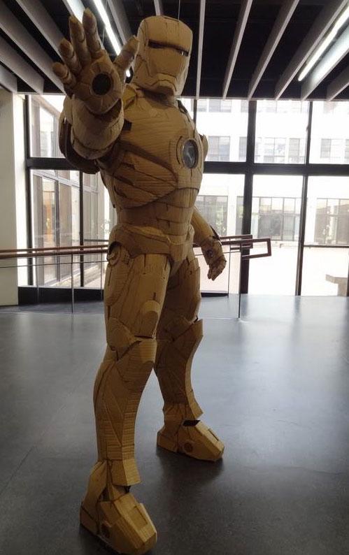 Iron manpak van karton