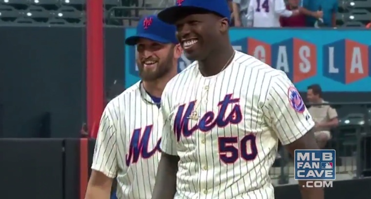 50 Cent first pitch