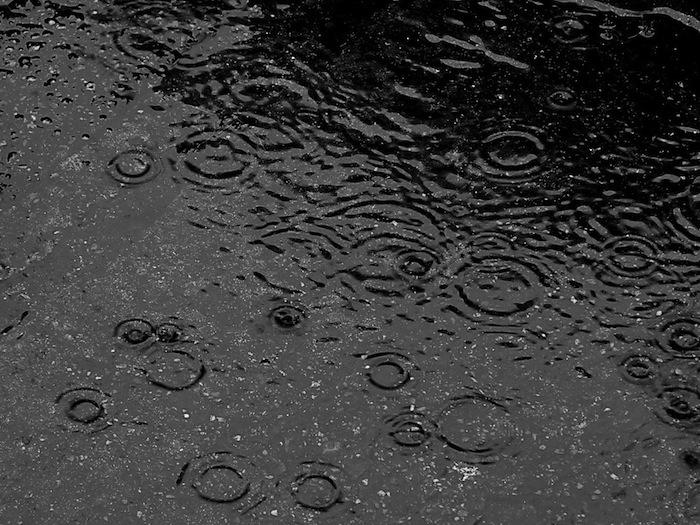 Regenbui, weer alarm