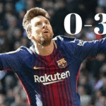 Real Madrid Vs Barcelona Highlights 0-3