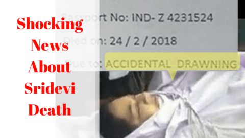 Shocking Report About Sridevi's Death