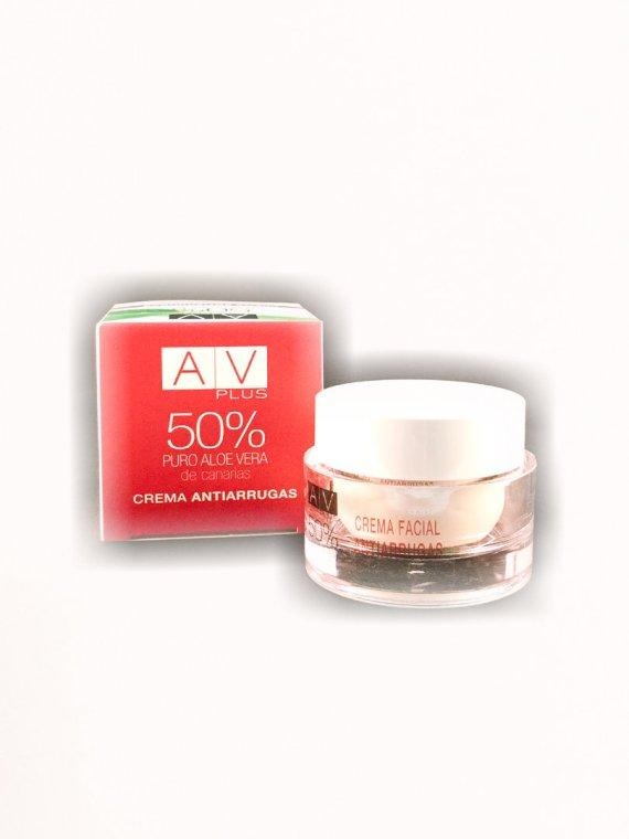 Crema Antiarrugas AV PLUS 50% Aloe Vera 50ml