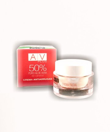 Crema Antiarrugas AV PLUS 50% Aloe Vera 50ml