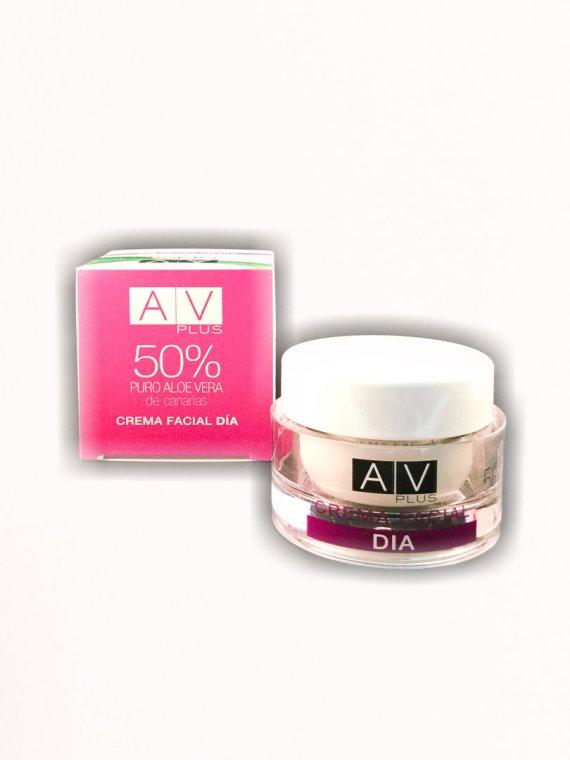 Crema de Día 50% Aloe Vera AV PLUS 50ml