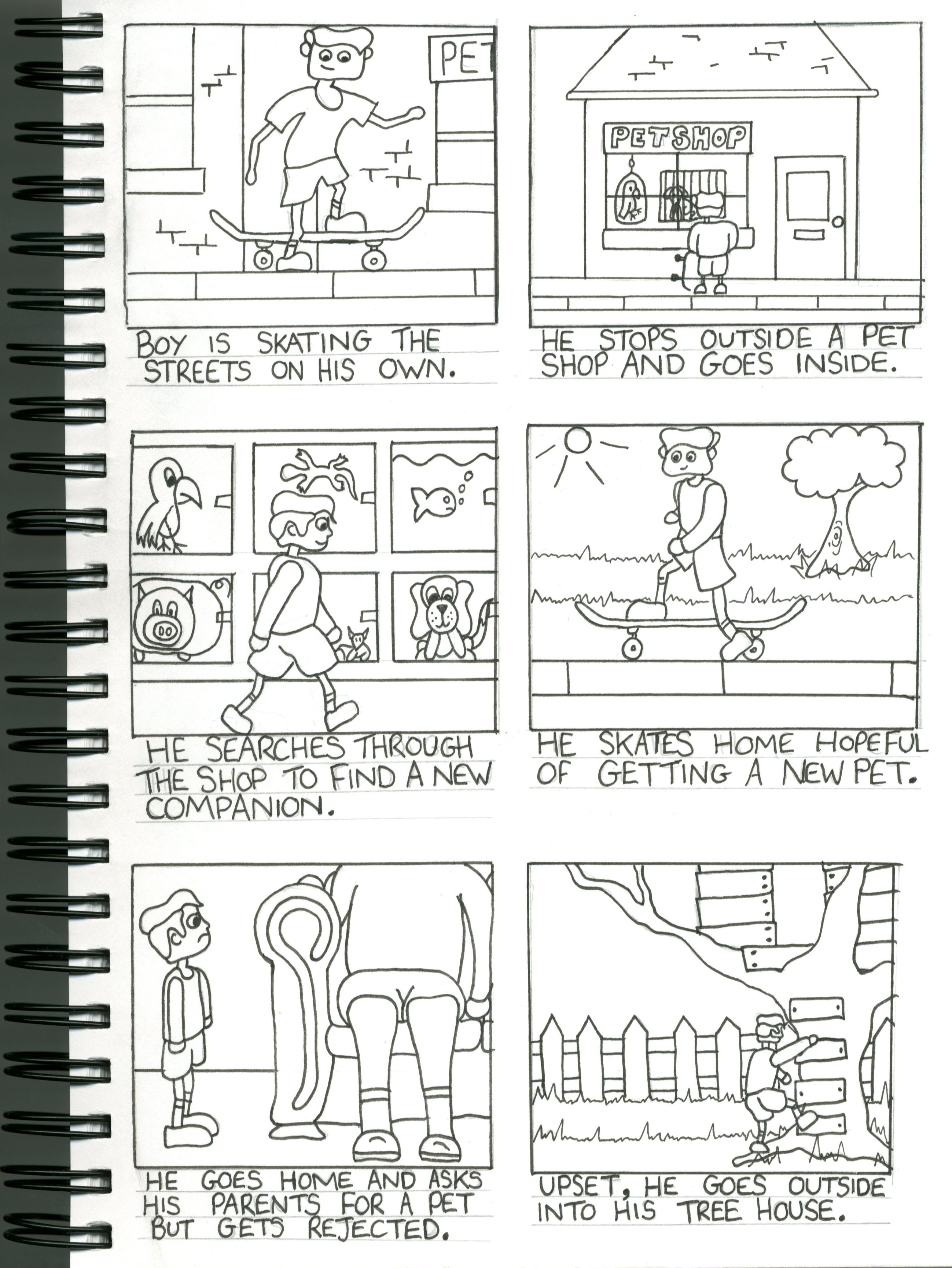 Creating Your Storyboard