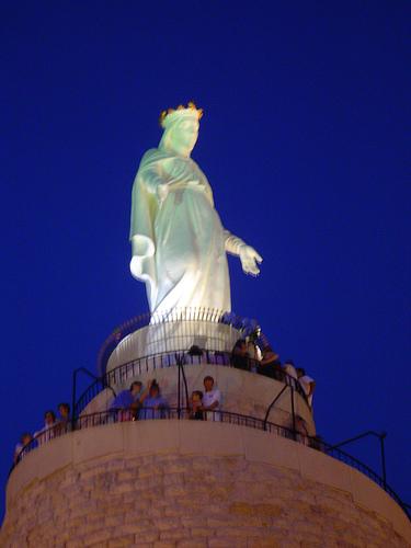 Imagem de Nossa Senhora do Líbano