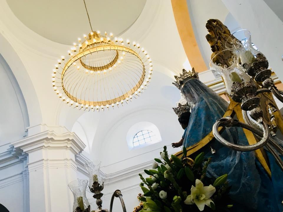 Inauguración de la lámpara