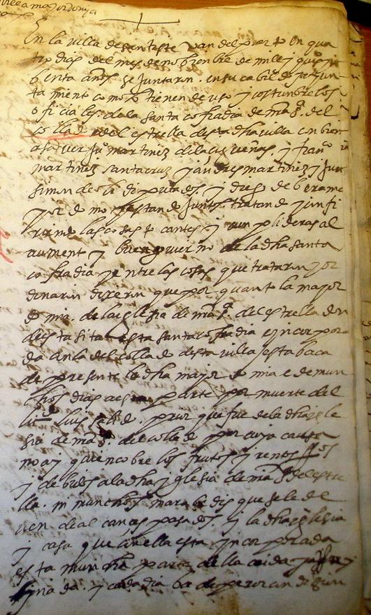 Acta Cabildo 1590 (I)