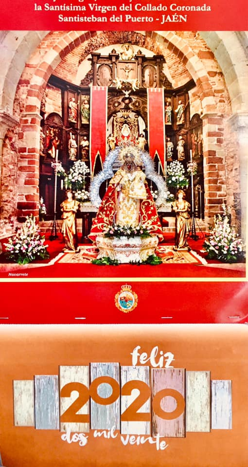 Calendario 2020 Santísima Virgen del Collado